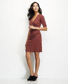 Wrap Dress from #HannaAndersson.