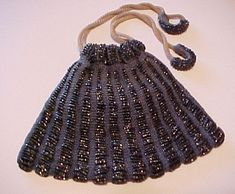classic beaded purse | ... for a women free crochet purse tote and bag patterns allcrafts