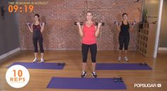 My most favorite arm workout of all time is a quick 10 minutes video made by Popsugar with Victoria Secret trainer, Andrea Orbeck. http://keepcalmcreate.blogspot.com/2014/03/sexy-sculpted-skinny-arm-workout.html