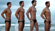 The Australian Men's Olympic Swim Team