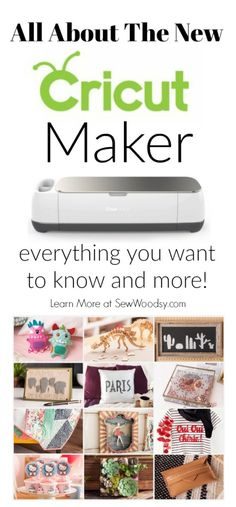 All about the NEW Cricut Maker!