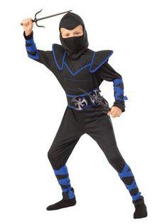 Halloween Boys' Blue Ninja Halloween Costume L, Boy's, Size: Large, MultiColored Gender: male. Ninja Halloween Costume, Halloween Kids, Geisha Costume, Boy Costumes, Plus Size Shopping, Trendy Plus Size, Superhero, Children, Toys
