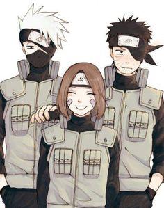 Kakashi,Rin e Boito ❤