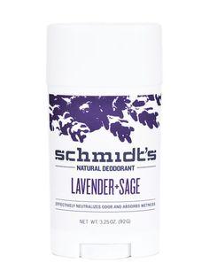 Schmidt's - Deodorant Stick - Lavender + Sage