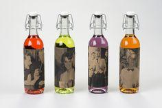 Jerk Soda   Packaging by Ashley Hohnstein, via Behance