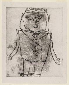 Jean Dubuffet. Pierre Benoit. (1946)
