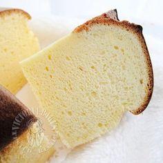 Japanese cream cheese chiffon