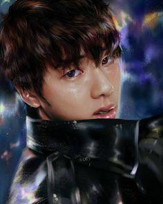 Worldwide Handsome, Seokjin, Jon Snow, Fanart, Bts, Drawings, Artist, Fictional Characters, Jhon Snow