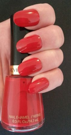 Revlon Red--this classic shade is still going strong after 25 years