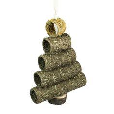 Christmas Festive Xmas Edible Christmas Tree Tunnel Rats Mice Hamsters Rabbits #ZooPlus