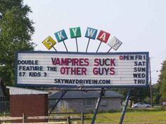 Suck their blood, right? This is about blood? | 17 Hilariously Inappropriate Movie Marquees