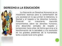 10 Ideas De Derecho De La Educacion Educacion Derecho A La Educacion Derecho