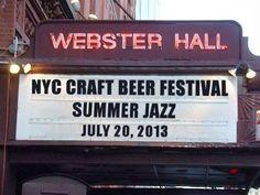 NYC Craft Beer 72013