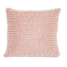 pink, pearl pillow. I have the white one.. want this pink!!