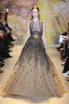 Zuhair Murad Spring 2014 HC - I am LOVING this collection. I need somewhere to go get fancy now.