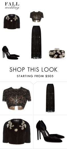 """Like in the old days...."" by lekeks ❤ liked on Polyvore featuring Emilio Pucci, Elie Saab, Dolce&Gabbana, Yves Saint Laurent, Oscar de la Renta and fallwedding"