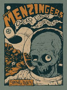 The Menzingers Tour Poster, Spring 2012