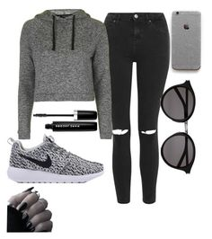 """""""Untitled #231"""" by elsakaram ❤ liked on Polyvore featuring Topshop, Marc Jacobs and Yves Saint Laurent"""