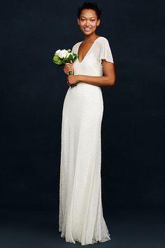 J.Crew Wedding Dresses - Simple, White Gowns