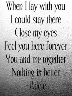 #adele #song #lyrics #quotes #relationship