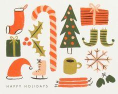 Christmas Theme Illustrations
