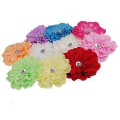 Gerbera Daisy flor de clips, juego de 10, a sólo $ 5,18 enviados!