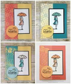 Beautiful You Stamp Set and Cupcakes & Carousels Paper by Stampin' Up! www.stampstodiefor-tile