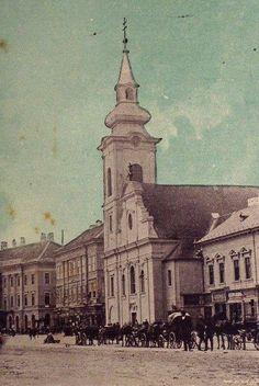 Old postcard of Arad