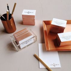rose gold edges from mae mae paperie