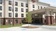 Hampton Inn Omaha West Lakeside Omaha This hotel is 12 miles from downtown Omaha and one mile from Zorinsky Lake. The hotel features an indoor pool and a flat-screen TV in every room.  Rooms at the Hampton Inn Omaha West Lakeside include a microwave and refrigerator.