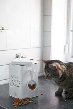 My Cat's Favourite Food Storage Box Riviera Maison 274780