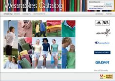 Business involves in apparel and clothing needs catalogs for getting attention of customers.
