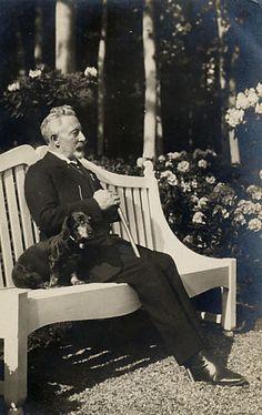 Kaiser Wilhelm II of Germany in exile.
