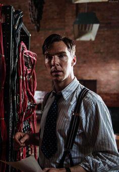 Benedict as Alan Turing in The Imitation Game.