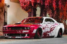 Dodge Muscle Cars, Custom Muscle Cars, Custom Cars, Cool Sports Cars, Cool Cars, Sport Cars, Dodge Challenger Srt Hellcat, Dodge Srt Demon, Dodge Charger Srt