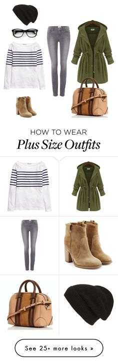 """Untitled #418"" by jarvis-kat on Polyvore featuring H&M, Paige Denim, Laurence Dacade and Phase 3"