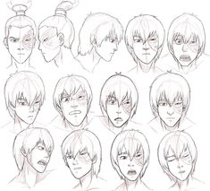 Love this Zuko study! find the coolest stuff on tumblr! http://thelegacyofthelastairbender.tumblr.com/