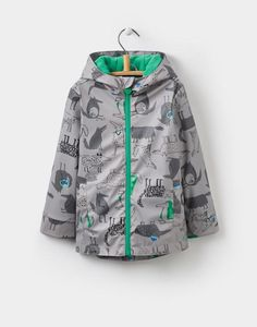 Joules Skipper YoungerBoys Waterproof Rubber Coat 1-6yr
