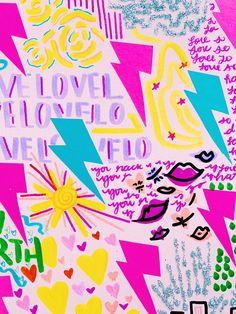Cute Patterns Wallpaper, Wallpaper Iphone Cute, Aesthetic Iphone Wallpaper, Cute Wallpapers, Aesthetic Wallpapers, Bedroom Wall Collage, Photo Wall Collage, Picture Wall, Collage Art