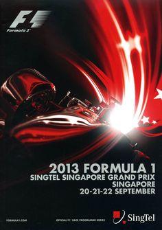 891GP - 2013 FORMULA 1 SINGTEL SINGAPORE GRAND PRIX PROGRAMA