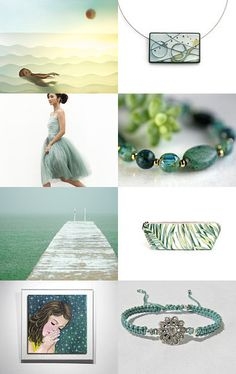 Summer finds! by Ilona Rudolph on Etsy--Pinned with TreasuryPin.com