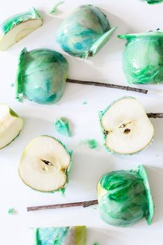 Marble Candy Apples
