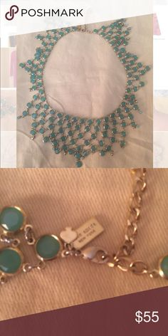 Beautifully Chic  Kate Spade Necklace Flawless necklace by Kate Spade instantly upgrades any outfit with its chic color and design. Perfect complement to any outfit. Lightweight yet perfectly constructed it can be worn year round. kate spade Jewelry Necklaces