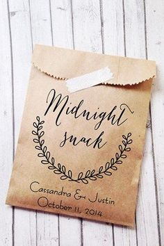 Midnight Snack Favours (BridesMagazine.co.uk)