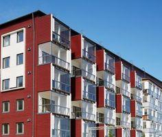 Puukerrostalo PUUMERA | Woodarchitecture.fi Wooden Architecture, Multi Story Building