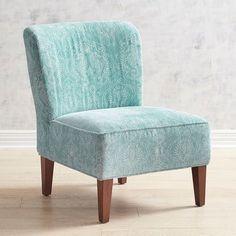 Addyson Seahorse Teal Chair