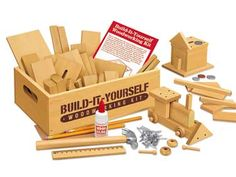 Build It Yourself Wood working kit