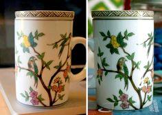 chintz design mugs