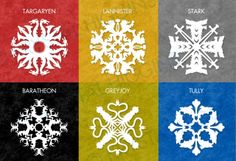Winter is Coming: Make Game of Thrones paper snowflakes to celebrate