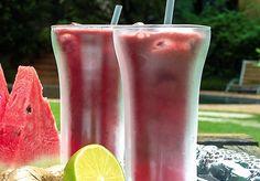 Suco detox de açaí e melancia - Dicas e dietas